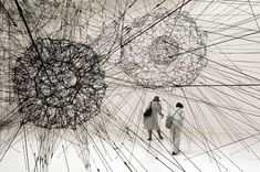 Amazing geometry - Tomás Saraceno