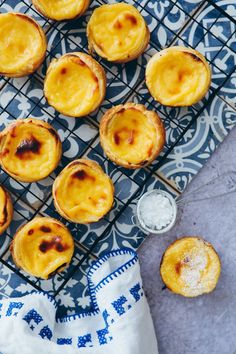 Recipe for Pasteis de Nata - pasteis pastel de nata recipe recipe portuguese custard tarts portuguese custart tarts puff pastry - Cream Pie Recipes, Puff Pastry Recipes, Cookie Recipes, Snack Recipes, Dessert Recipes, Gourmet Desserts, Plated Desserts, Brunch Recipes, Portuguese Custard Tarts
