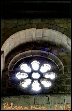 Zamora Iglesia románica de Santa María Magdalena. Rosetón. Zamora Romanic church St. Mary Magdalene rosette