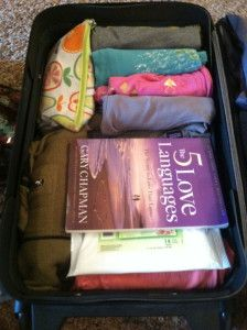 headed south for a week~Packing for 7 days in one carry on.