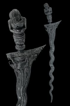 Kris Dagger Dated: 19th Century Culture: Indonesian Measurements: overall length 42 cm Provenance: Paolo Musso Collection