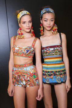 Dolce & Gabbana Spring 2013 - Backstage