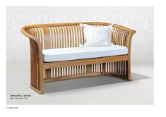 Kipas wooden Sofa 2 Seater Reclaimed Furniture, Rattan Furniture, Outdoor Furniture, Wooden Sofa, Wholesale Furniture, Furniture Manufacturers, Classic Furniture, Interior Design Services, Furniture Projects