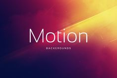 18 Motion Backgrounds by Digital ART on Creative Market