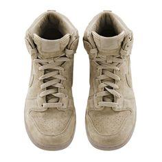 Nike + A.P.C. Baskets Dunk beige