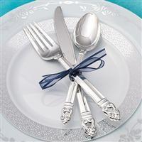 1291 Danish Crown Plastic Dinner Forks