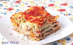 .: Lasagna cu legume Lasagna, My Recipes, Ethnic Recipes, Food, Essen, Meals, Yemek, Lasagne, Eten