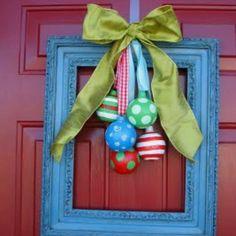 Christmas wreath. Perfect Christmas wreath idea