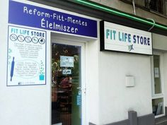 Would like to share this store, located Budapest,Hungary Buda side. Fit Life Store.