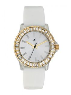 a4af96deb Good gift for girlfriend  Fastrack Hip Hop Analog Watch - For Women  (White). Find best gifts from more than 10000 handpicked gift ideas.