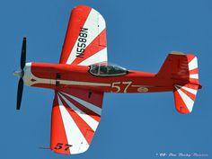 """""""Super Corsair!""""9/14/08-UNL Silver Trophy Race: Late & great warbird restorer/pilot~*Bob Odegaard*~flies his stunningly-beautiful Vought-Goodyear F2G-1 #57 Super Corsair."""
