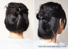 Quick Casual Updo for Long Hair - 30 Easy and Stylish Casual Updos for Long Hair - The Trending Hairstyle - Page 22 Short Hair Updo, Casual Updos For Long Hair, Long Face Hairstyles, Ethnic Hairstyles, Casual Hairstyles, Long Curly Hair, Quick Hairstyles, Party Hairstyles, Curly Hair Styles