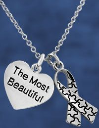 The Most Beautiful Autism Awareness Necklace at The Autism Site