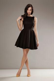 Stylowa sukienka AUDREY - czarny