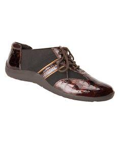Brown Nancy Leather Sneaker