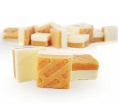 Banoffee Fudge: ¿te gusta el toffee? Imagínate una dulce combinación con sabores de vainilla y plátano.
