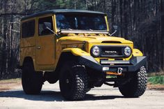 This 1977 Toyota Landcruiser FJ40 has 98,000 miles. It has has been extensively modified by the seller who owns and operates Carolina Offroad Outfitters in Raleigh, NC. The seller obtained the truck back in 2013 and has put roughly 5000 miles on it since. It retains the original 2F 4.2 liter straig