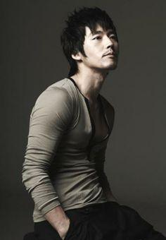 South Korean actor, Jang Hyuk. He has lovely jawlines.