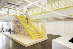 Office stairs from Razorfish Offices - Berlin