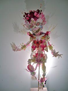 Cedric Laquieze, new flowerskeleton.