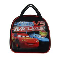 Officially Licensed Disney Pixar Cars Zipper Lunch Box With Water Bottle and Adjustable Strap  Lightning McQueen and The King ** Find out more about the great product at the image link.-It is an affiliate link to Amazon. #BottleFeeding