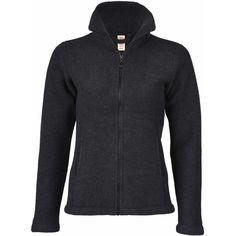 O jachetă superbă, groasă, moale și călduroasă, cu fermoar și la buzunare. Această jachetă pentru femei de la Engel este fabricată din lână merinos 100% organică. Este ideală pentru toamnă, dar și pentru iarnă. Poate fi purtată și la ski pe sub jacheta de ski sau de sine stătătoare în zilele calde și însorite de pe pârtie. Este croită pe talie și este prevăzută cu fermoar și buzunare.   Compoziție: 100% lână merinos fleece organică.   Mărimi disponibile: 34/36-42/44. Hooded Jacket, Athletic, Hoodies, Sweaters, Black, Fashion, Damasks, Jacket With Hoodie, Moda