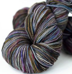 superwash merino sock yarn hand dyed 100g - Coloring Book Yarns
