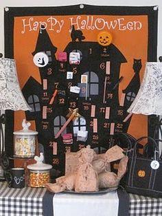 halloween advent calendar