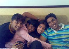 Nazriya Nazim With her Family