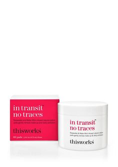 In Transit No Traces | Cleansing Pads To Remove Make-up | This Works