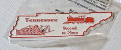 The Original Collectibles Magnet State Tennessee Second To None NOS new old stoc