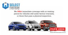 We offer immediate coverage with no waiting period for vehicles still under factory warranty, or those that pass a physical inspection. http://ow.ly/OqIHd