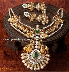 antique_peacock_nakshi_necklace