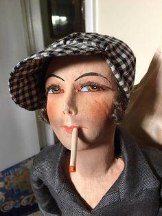 Super Rare Smoker doll  French Boudoir MAN  Gavroche '