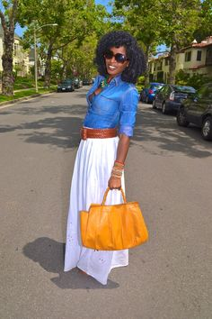 maxi skirt outfit-ideas
