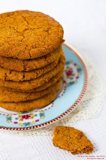 Pig in the Kitchen: Ginger biscuits - gluten free, dairy free, egg fre...