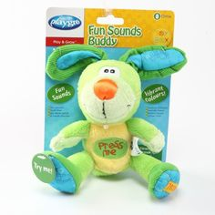 Playgro Toy Box Sesli Tavşan