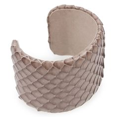 Hirshleifers - Brunello Cucinelli - Taupe Python Cuff (Taupe), $245.00 (http://www.hirshleifers.com/jewelry/fashion-jewelry/bracelets/brunello-cucinelli-taupe-python-cuff-taupe/) #ILOVEHIRSHLEIFERS