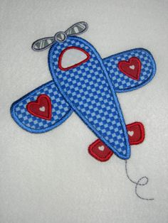 Valentines Airplane Boys Applique Shirt or Bodysuit by BabblesBubblesBows, $25.00