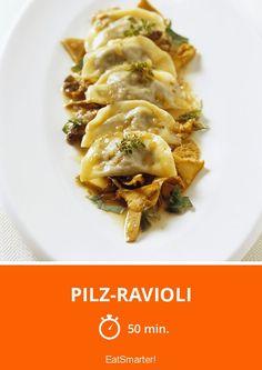 Pilz-Ravioli - smarter - Zeit: 50 Min.   eatsmarter.de