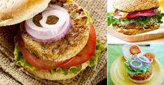 Aquí tienes 4 opciones de hamburguesa vegetariana, para preparar y disfrutar de un rico y saludable almuerzo. Puedes variar y combinar los distintos ingredientes que más te gusten, para preparar tu...