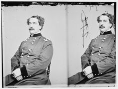 General Abner Doubleday (June 26, 1819 – January 26, 1893) was a career United States Army officer and Union general in the American Civil War. He fired the first shot in defense of Fort Sumter, the opening battle of the war, and had a pivotal role in the early fighting at the Battle of Gettysburg. Gettysburg was his finest hour, but his relief by Maj. Gen. George G. Meade caused lasting enmity between the two men