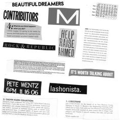 Brushes ❤ liked on Polyvore featuring text, words, backgrounds, magazine, article, quotes, phrase and saying