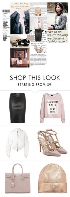 """""""I think you have the most beautiful mind."""" by miky94 on Polyvore featuring moda, Joseph, H&M, Juun.j, Valentino, Yves Saint Laurent e Charlotte Russe"""