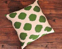 ikat fabric throw pillow ikat cushion suzani decor by DecorUZ Euro Pillows, Accent Pillows, Throw Pillow, Couch Pillows, Nautical Pillows, Aztec Pillows, Cushion Covers, Pillow Covers, Green Dot