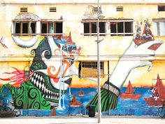 Jaffa, Israel - Street Art, at the Port of Jaffa