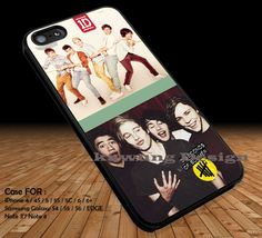 One Direction and 5 Seconds of Summer DOP2190 case/cover for iPhone 4/4s/5/5c/6/6 /6s/6s  Samsung Galaxy S4/S5/S6/Edge/Edge  NOTE 3/4/5 #music #5sos #1d