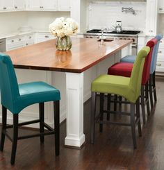 Spend More Time At The Bar In Clean Style And Irresistible Comfort Of Leather Valencia Stool
