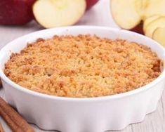 Crumble pomme-poire parfumé à la cannelle : Savoureuse et équilibrée | Fourchette & Bikini