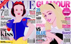 Disney Princess Cover Girls